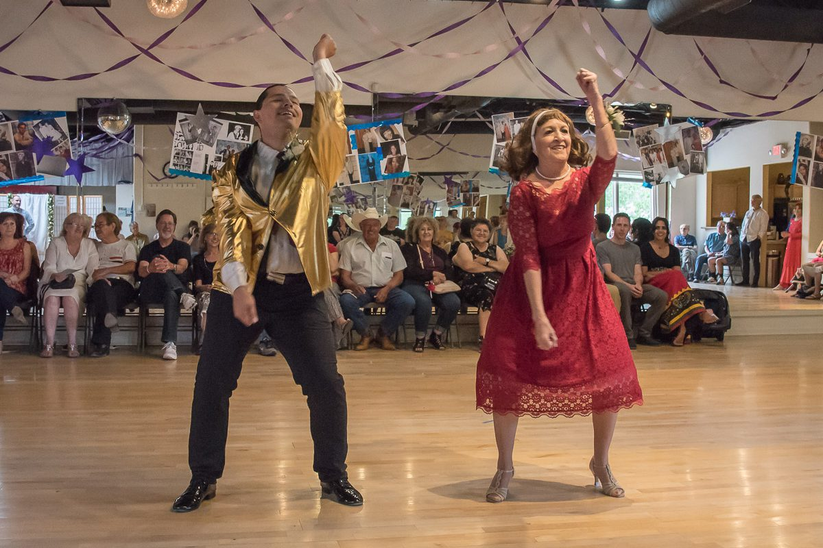 Lawrence Black and Kathy Roybal show how easy it is to learn how to start dancing with these tips