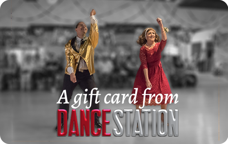Gift card showing Lawrence Black and Kathy Roybal